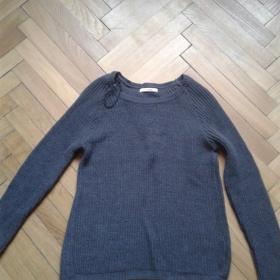 Tmavěšedý svetr Camaieu - foto č. 1