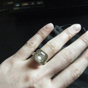 Stříbrná prsten Dyrberg/Kern - foto č. 1