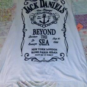 Bílé tílko Jack Daniels - foto č. 1