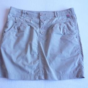 Šedá sukně Exe Jeans - foto č. 1