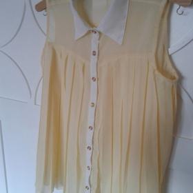 Žlutá nařasená košile Atmosphere - foto č. 1