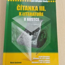 Čítanka k literatuře III. v kostce - Fragment - foto č. 1