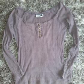 šedo fialové triko Exe - foto č. 1