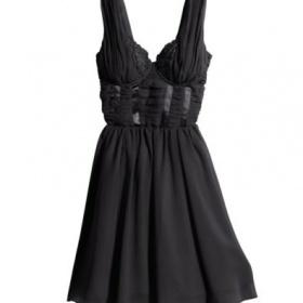 Černé šaty HM by night - foto č. 1