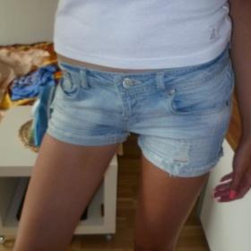 Modré šortky Mickey Terranova - foto č. 1