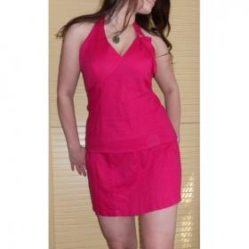 Růžové šaty H&M - foto č. 1