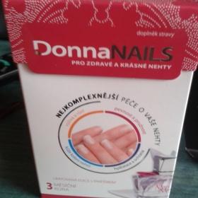 Doplněk stravy  pro péči o nehty Donna nails - foto č. 1