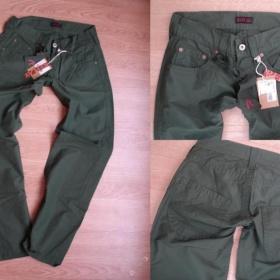 Army zelené kalhoty Replay - foto č. 1