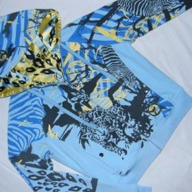 Modr� barevn� oboustrann� mikina Pepe Jeans - foto �. 1