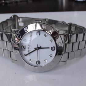 Stříbrné hodinky Marc Jacobs - foto č. 1