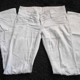 Světle šedé kalhoty neznačkové - foto č. 1