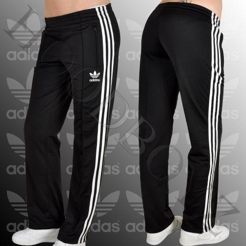 Černé tepláky Adidas - Bazar Omlazení.cz 64e6a6fe5e2