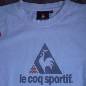 Bílá tričko Lecoqsportif - foto č. 1