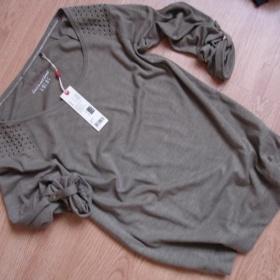 Hnědé tričko Esprit - foto č. 1