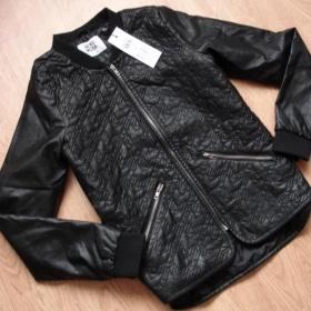 Černá bunda Vero Moda - foto č. 1