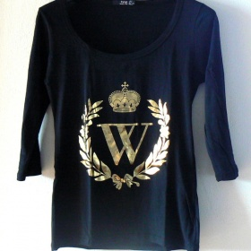 Tričko se vzorem W Gate - foto č. 1