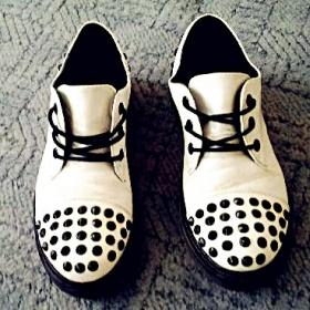 Bílé boty Glády - foto č. 1