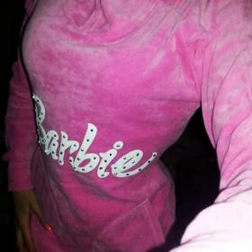 Sv�tiv� r�ov� mikina pod zadek Barbie - foto �. 1