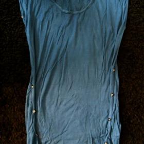 Modré tričko Tally Weijl - foto č. 1