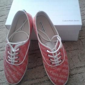 Lososové boty Calvin Klein Jeans - foto č. 1