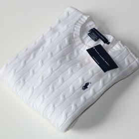 Bílý svetr Ralph Lauren - foto č. 1