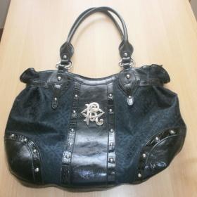 Černá  prostorná kabelka RocaWear - foto č. 1
