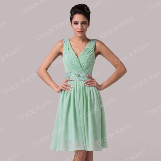 4733a41f305 Mint společenské plesové šaty Grace Karin - Bazar Omlazení.cz