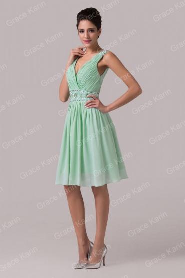 Mint společenské plesové šaty Grace Karin - Bazar Omlazení.cz 01d1cea739