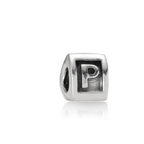Stříbrný náramek P Pandora - foto č. 1