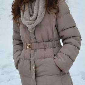 Béžová bunda : ) - foto č. 1