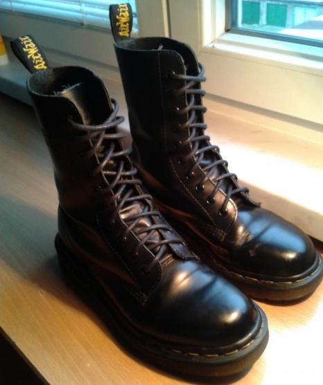 479a8341e Černé boty Dr. Martens - Bazar Omlazení.cz