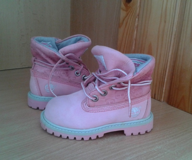 Dětské růžové botičky Timberland - Bazar Omlazení.cz 83ea1a0c1e4