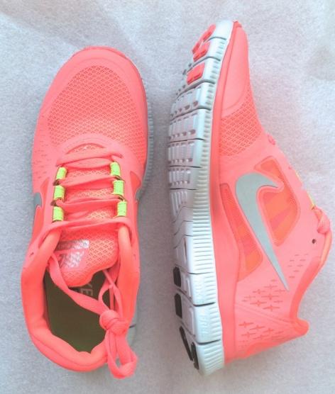 Růžové tenisky Nike Free Run - Bazar Omlazení.cz e4dd51feb8