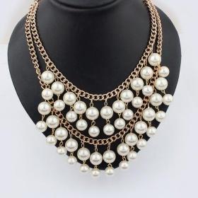 Masivn� perlov� n�hrdeln�k. nezna�kov� - foto �. 1