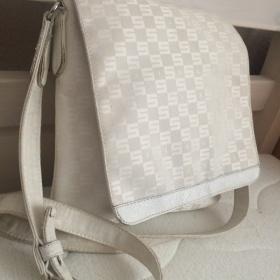 Bílá crossbody taška Sisley přes rameno Sisley - foto č. 1