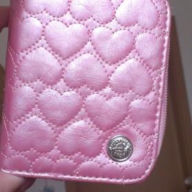 Perleťově růžová peněženka Funky Fish - foto č. 1