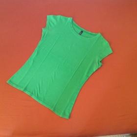 Triko zelené bavlněné Terranova - foto č. 1