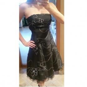 Černé společenské šaty Neznačkové - foto č. 1