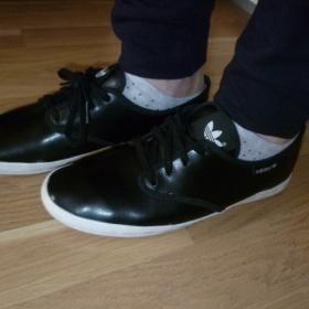 Černé tenisky Adidas - foto č. 1