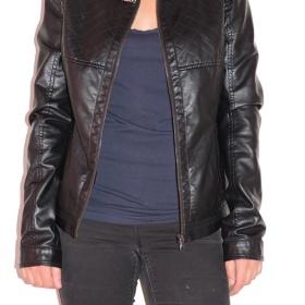 Koženková bunda Calliope - foto č. 1