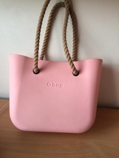 Růžová Obag standard Obag - Bazar Omlazení.cz 8c745b6e92a