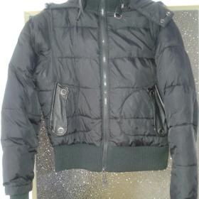 Černá zimní bunda Bloom - foto č. 1