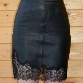 Kožená sukně Reiss - foto č. 1
