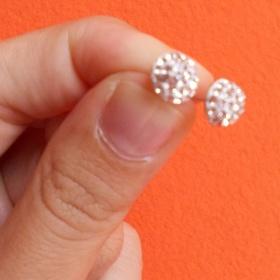 Náušničky z kamínků Fashion - foto č. 1