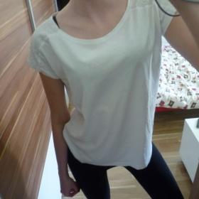 Tričko s krajky Sinsay