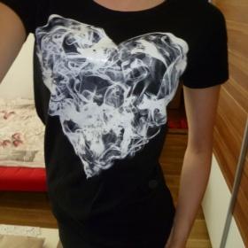 Tričko srdce House - foto č. 1