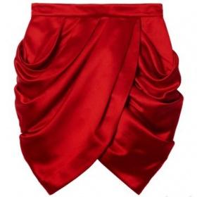 Červená sukně Hm - foto č. 1