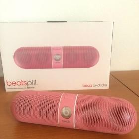 Růžový reproduktor Beats Pill by Dr. Dre - foto č. 1