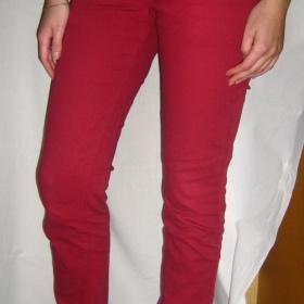 Červené kalhoty Gate - foto č. 1