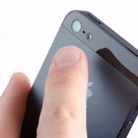 Špatné sklíčko na iPhone 5s